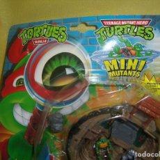 Figuras y Muñecos Tortugas Ninja: TORTUGAS NINJA MINI MUTANTS DE IDEAL, AÑO 1994, NUEVO.. Lote 106042511