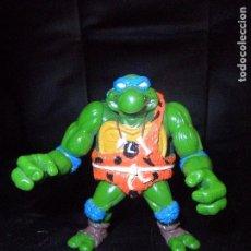 Figuras y Muñecos Tortugas Ninja: LEONARDO TROGLODITA - TORTUGAS NINJA SERIE DE TV, SERIE CLASICA 1987. . Lote 106086791
