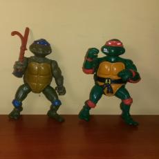 Figuras y Muñecos Tortugas Ninja: LOTE FIGURA MUÑECO DE GOMA TORTUGAS NINJA 1988 BANDAI PLAYMATES MICHELANGELO LEONARDO BOOTLEG. Lote 100958947