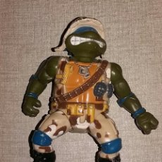 Figuras y Muñecos Tortugas Ninja: LIUTENANT LEO - MUTANT MILITARY - 1991 - PLAYMATES TOYS. Lote 106610351