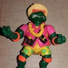 Figuras y Muñecos Tortugas Ninja: BEACHCOMBIN' MIKE - SEWER SPITTING TURTLES - 1992 - PLAYMATES TOYS. Lote 106610379