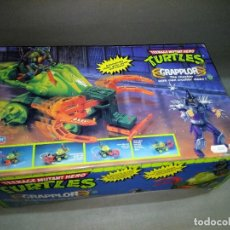 Figuras y Muñecos Tortugas Ninja: 318- TORTUGAS NINJA NINJA TURTLES GRAPPLOR IDEAL AÑOS 80-90 NUEVO OLD STOCK. Lote 107090467
