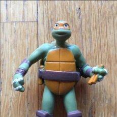 Figuras y Muñecos Tortugas Ninja: LOTE DOS FIGURAS TORTUGA NINJA, VIACOM VER FOTOS. Lote 107259567