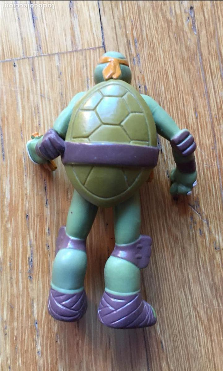 Figuras y Muñecos Tortugas Ninja: LOTE DOS FIGURAS TORTUGA NINJA, VIACOM Ver Fotos - Foto 2 - 107259567