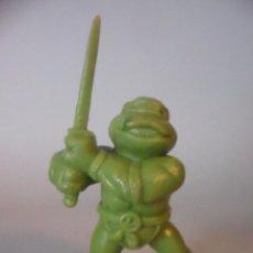 Figuras y Muñecos Tortugas Ninja: TMNT TORTUGAS NINJA LEONARDO FIGURA DE PVC SIN PINTAR MIRAGE STUDIOS 1988. Lote 109994915