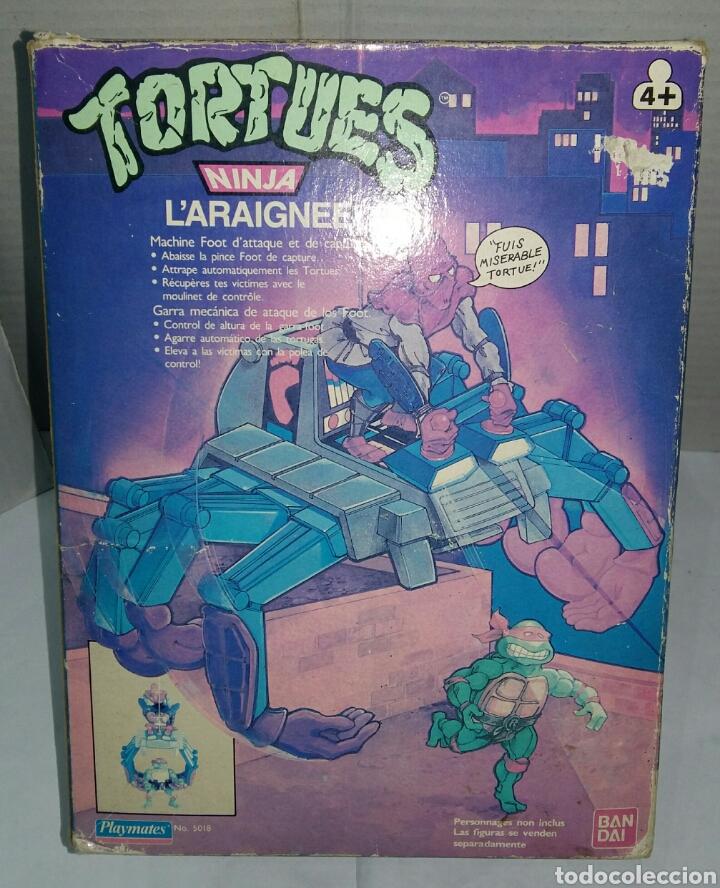 KNUCKLEHEAD NUEVO EN CAJA. TEENAGE MUTANT NINJA TURTLES. TORTUGAS NINJA. BANDAI 5018. 1988. TMNT. (Juguetes - Figuras de Acción - Tortugas Ninja)