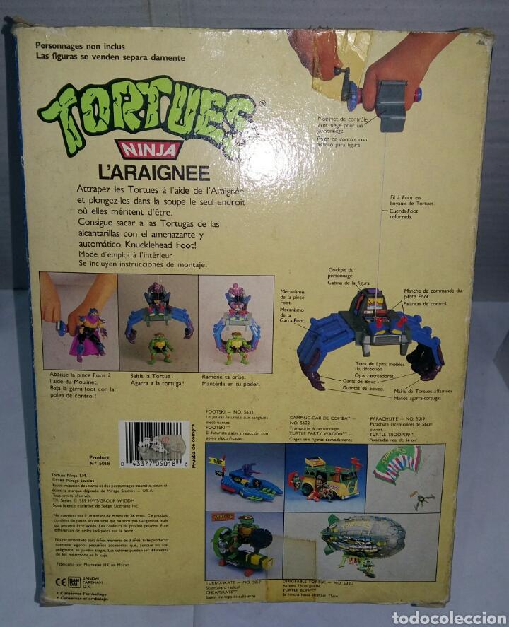Figuras y Muñecos Tortugas Ninja: KNUCKLEHEAD NUEVO EN CAJA. TEENAGE MUTANT NINJA TURTLES. TORTUGAS NINJA. BANDAI 5018. 1988. TMNT. - Foto 2 - 110063792