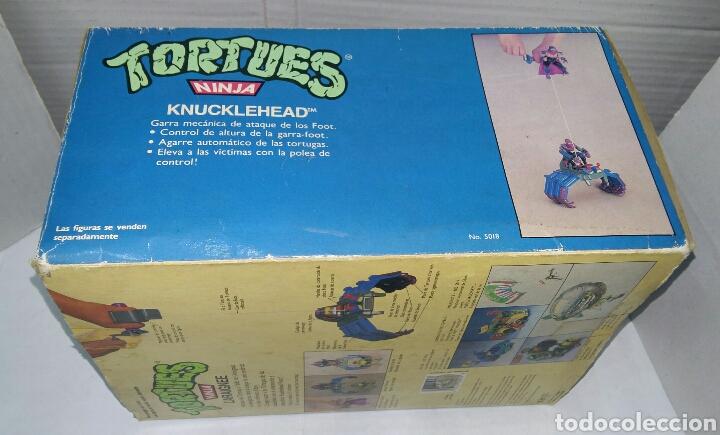 Figuras y Muñecos Tortugas Ninja: KNUCKLEHEAD NUEVO EN CAJA. TEENAGE MUTANT NINJA TURTLES. TORTUGAS NINJA. BANDAI 5018. 1988. TMNT. - Foto 3 - 110063792