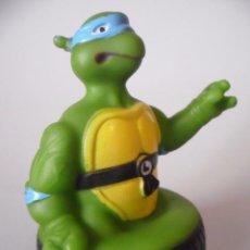 Figuras y Muñecos Tortugas Ninja: TMNT TEENAGE MUTANT NINJA TURTLES TORTUGAS NINJA LEONARDO FIGURA DE GOMA MIRAGE STUDIOS 1991. Lote 110140831