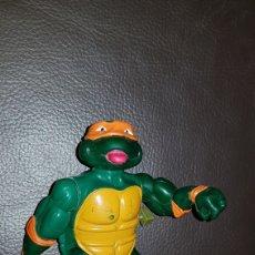 Figuras y Muñecos Tortugas Ninja: FIGURAS DE ACCIÓN TORTUGAS NINJA CON CUERDA. Lote 110719140