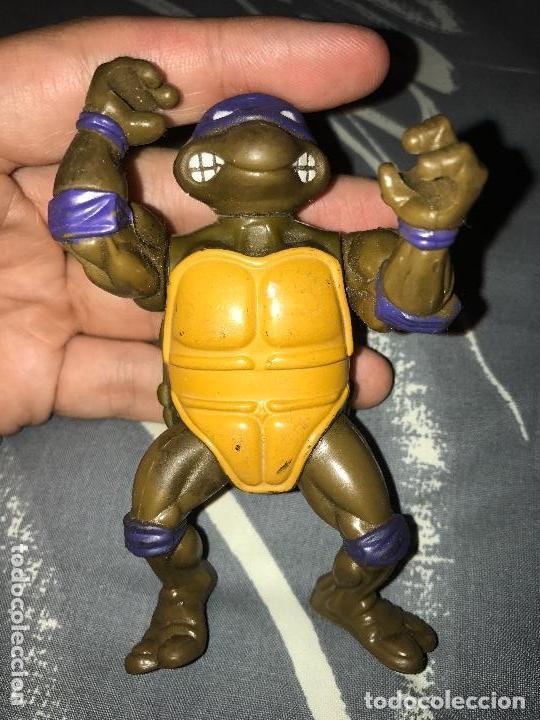 ANTIGUA FIGURA TORTUGAS NINJA AÑOS 80 (Juguetes - Figuras de Acción - Tortugas Ninja)