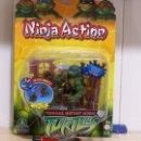 Figuras y Muñecos Tortugas Ninja: LEONARDO NINJA ACTION. Lote 114050887