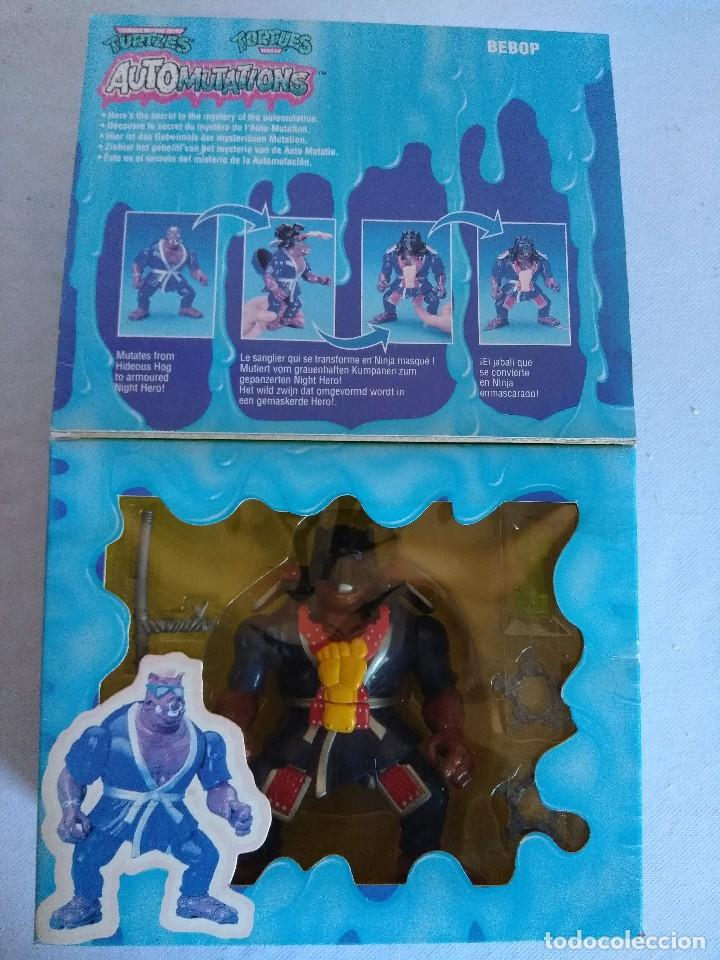 Figuras y Muñecos Tortugas Ninja: TURTLES AUTOMUTATIONS BEBOP/TORTUGAS NINJA. - Foto 2 - 114242867