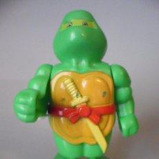 Figuras y Muñecos Tortugas Ninja: RARA TMNT TORTUGAS NINJA FIGURA BOOTLEG WIND UP AÑOS 80. Lote 114724307