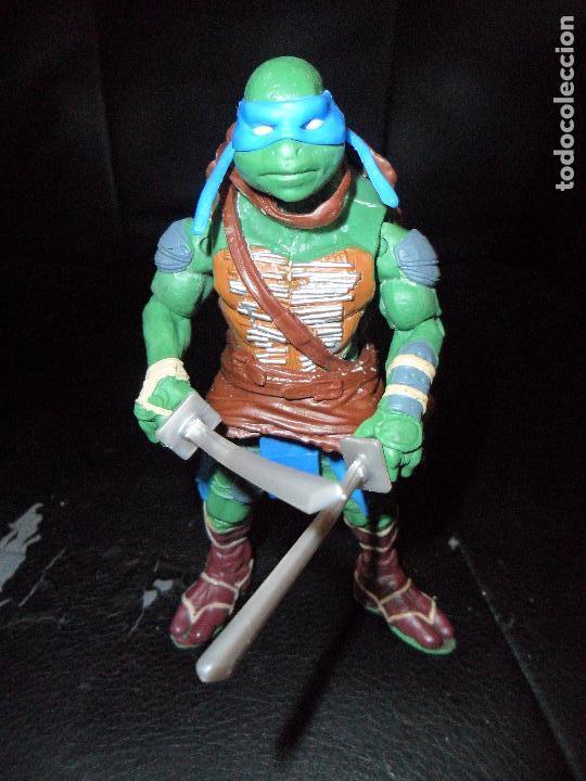 Figuras y Muñecos Tortugas Ninja: LEONARDO - LAS TORTUGAS NINJA LA PELICULA 2014 - PLAYMATES - Foto 2 - 114902623