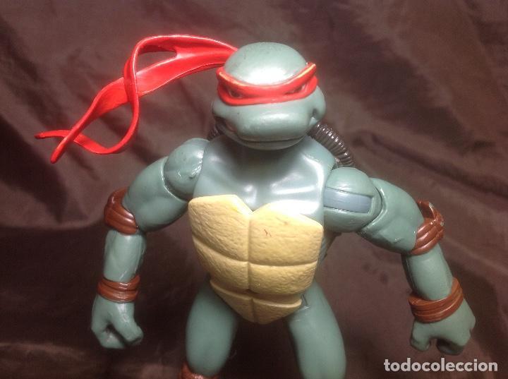 Figuras y Muñecos Tortugas Ninja: Raphael Tortugas Ninja 15 cm Playmates 2006 articulaciones caderas flojas - Foto 2 - 115505355