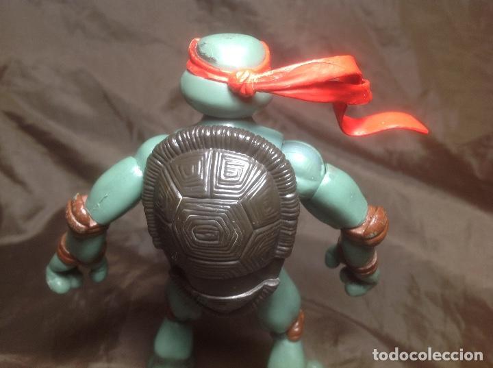 Figuras y Muñecos Tortugas Ninja: Raphael Tortugas Ninja 15 cm Playmates 2006 articulaciones caderas flojas - Foto 4 - 115505355