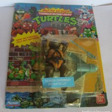 Figuras y Muñecos Tortugas Ninja: TORTUGAS NINJA SEWER SWIMMIN DONATELLLO, DE BANDAI, EN BLISTER. CC. Lote 115643759