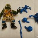 Figuras y Muñecos Tortugas Ninja: TORTUGA NINJA, LEONARDO, MILITAR, VINTAGE. Lote 117583035