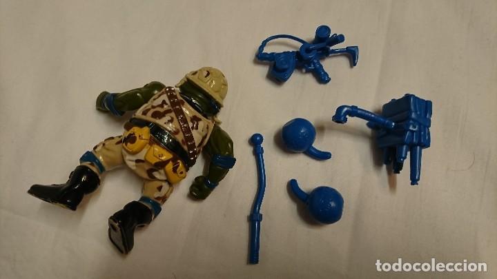 Figuras y Muñecos Tortugas Ninja: TORTUGA NINJA, LEONARDO, MILITAR, VINTAGE - Foto 3 - 117583035