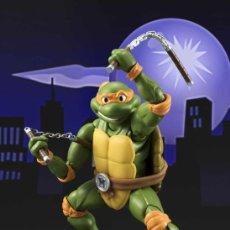 Figuras y Muñecos Tortugas Ninja: [BANDAI] TMNT S.H.FIGUARTS MICHELANGELO - TEENAGE MUTANT NINJA TURTLES - TORTUGAS NINJA. Lote 118380779