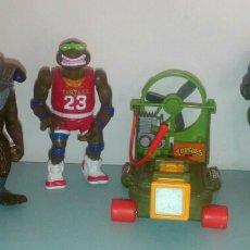 Figuras y Muñecos Tortugas Ninja: LOTE TORTUGAS NINJA 1988- 1991. Lote 119171135