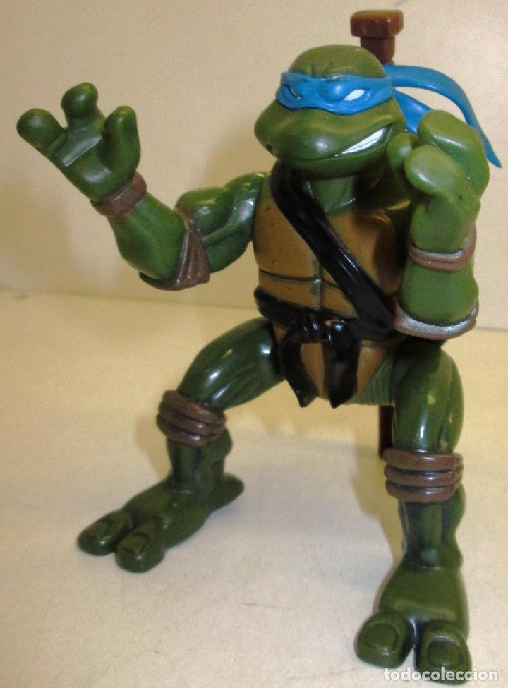 FIGURA TORTUGAS NINJA, LEONARDO, TMNT PLAYMATES 2004 (Juguetes - Figuras de Acción - Tortugas Ninja)