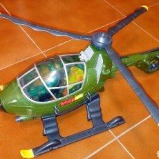 Figuras y Muñecos Tortugas Ninja: HELICOPTERO ORIGINAL RARO GRANDE TORTUGAS NINJA. Lote 123352482