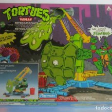 Figures and Dolls Ninja Turtles - TORTUGAS NINJA RETROCATAPULTA, DE BANDAI, EN CAJA. CC - 123408811