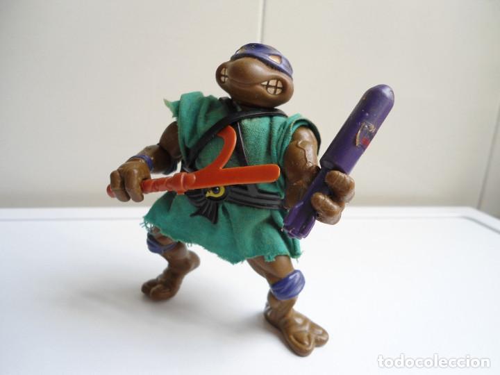 DONATELLO - TORTUGAS NINJA - FIGURA DE LA CASA PLAYMATES 1988 - CON ARMA - MUY BUEN ESTADO (Juguetes - Figuras de Acción - Tortugas Ninja)