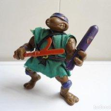Figuras y Muñecos Tortugas Ninja: DONATELLO - TORTUGAS NINJA - FIGURA DE LA CASA PLAYMATES 1988 - CON ARMA - MUY BUEN ESTADO. Lote 123502547