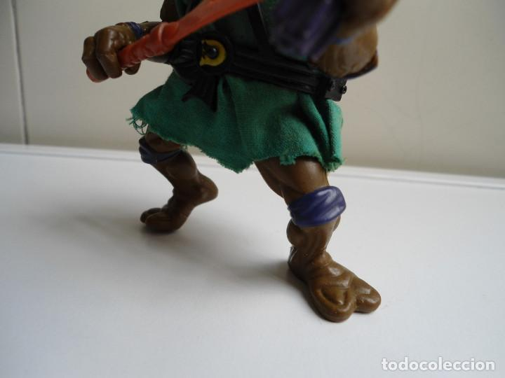 Figuras y Muñecos Tortugas Ninja: DONATELLO - TORTUGAS NINJA - FIGURA DE LA CASA PLAYMATES 1988 - CON ARMA - MUY BUEN ESTADO - Foto 3 - 123502547