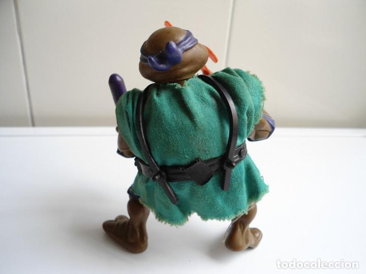 Figuras y Muñecos Tortugas Ninja: DONATELLO - TORTUGAS NINJA - FIGURA DE LA CASA PLAYMATES 1988 - CON ARMA - MUY BUEN ESTADO - Foto 6 - 123502547