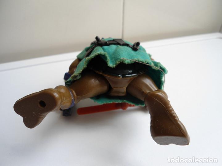 Figuras y Muñecos Tortugas Ninja: DONATELLO - TORTUGAS NINJA - FIGURA DE LA CASA PLAYMATES 1988 - CON ARMA - MUY BUEN ESTADO - Foto 10 - 123502547
