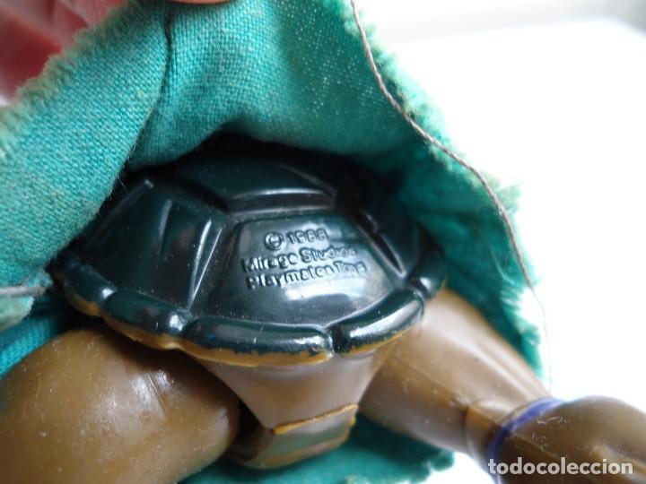 Figuras y Muñecos Tortugas Ninja: DONATELLO - TORTUGAS NINJA - FIGURA DE LA CASA PLAYMATES 1988 - CON ARMA - MUY BUEN ESTADO - Foto 11 - 123502547