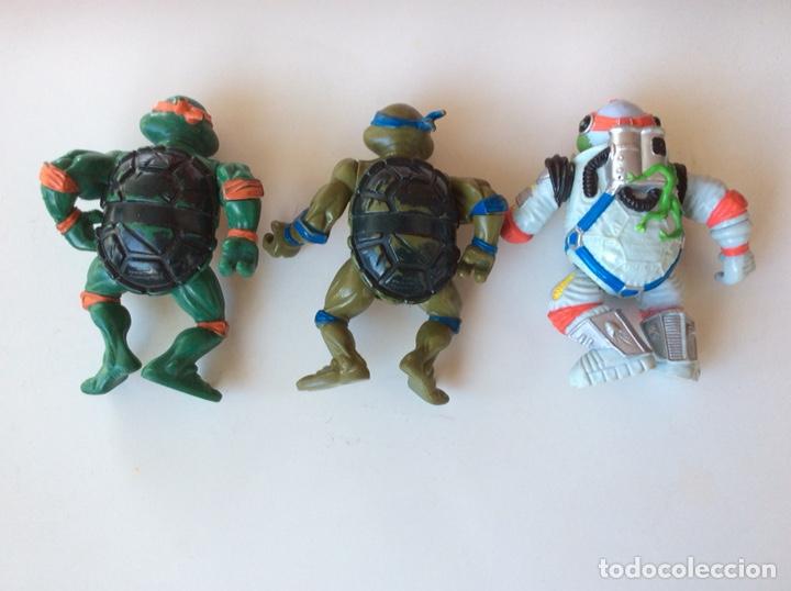Figuras y Muñecos Tortugas Ninja: FIGURA TORTUGAS NINJA - LOTE DE 3 MUÑECOS MIRAGE STUDIOS AÑOS 90 - Foto 2 - 263000125