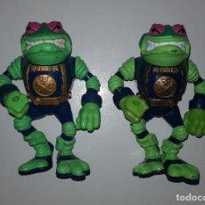 Figuras y Muñecos Tortugas Ninja: LOTE DE 2 FIGURAS TORMENTOSO DE BUCKY O'HARE (TORTUGAS NINJA TURTLES PLAYMATES HASBRO). Lote 125289871