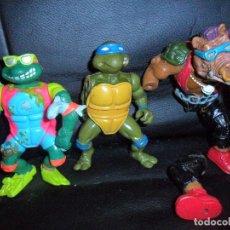 Figuras e Bonecos Tartarugas Ninja: LAS TORTUGAS NINJA LOTE FIGURAS CON DEFECTOS - SERIE CLASICA 1987.. Lote 125412971