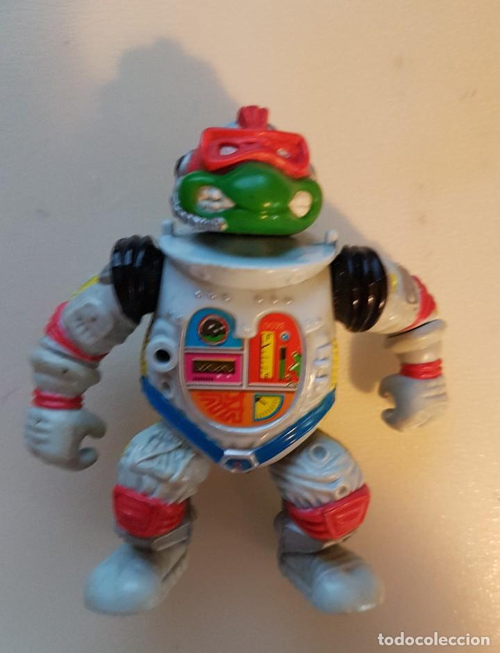 RAPHAEL ASTRONAUTA. SPACE CADET. TMNT TORTUGAS NINJA PLAYMATES (Juguetes - Figuras de Acción - Tortugas Ninja)