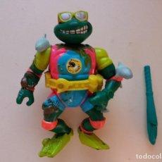 Figuras y Muñecos Tortugas Ninja: MIKE MICHAELANGELO THE SEWER SURFER. TMNT TORTUGAS NINJA PLAYMATES. Lote 127254083