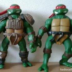 Figuras y Muñecos Tortugas Ninja - Lote de 2 figuras de acción de las Tortugas Ninja del año 2002 Mirage Studios Inc. playmates toys. - 127574207
