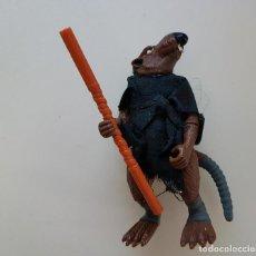 Figuras y Muñecos Tortugas Ninja: SPLINTER+ ACCESORIOS. MAESTRO ASTILLA TMNT TORTUGAS NINJA PLAYMATES. Lote 127940491