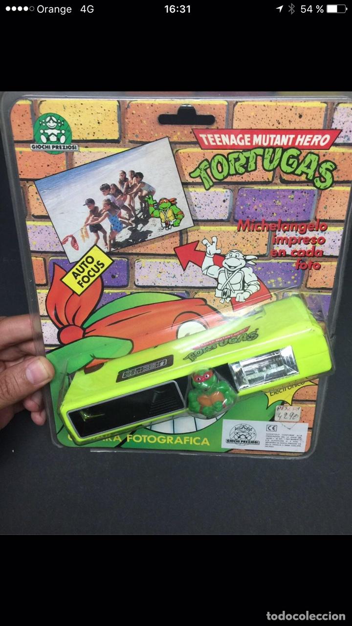 CAMARA EN SU BLISTER TORTUGA NINJA ANTIGUA (Juguetes - Figuras de Acción - Tortugas Ninja)