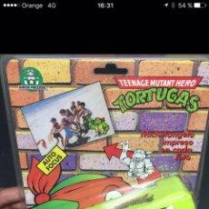 Figuras y Muñecos Tortugas Ninja: CAMARA EN SU BLISTER TORTUGA NINJA ANTIGUA. Lote 128245848