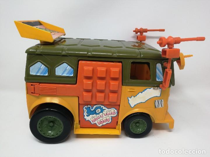 Figuras y Muñecos Tortugas Ninja: TMNT camioneta furgoneta Tortugas Ninja. Playmates Toys 1989. Completa. Dificil. - Foto 2 - 128746571