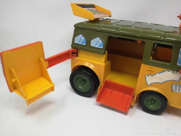Figuras y Muñecos Tortugas Ninja: TMNT camioneta furgoneta Tortugas Ninja. Playmates Toys 1989. Completa. Dificil. - Foto 3 - 128746571