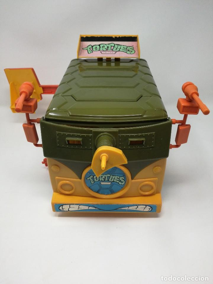 Figuras y Muñecos Tortugas Ninja: TMNT camioneta furgoneta Tortugas Ninja. Playmates Toys 1989. Completa. Dificil. - Foto 4 - 128746571