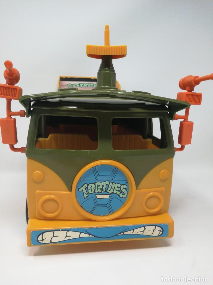 Figuras y Muñecos Tortugas Ninja: TMNT camioneta furgoneta Tortugas Ninja. Playmates Toys 1989. Completa. Dificil. - Foto 5 - 128746571