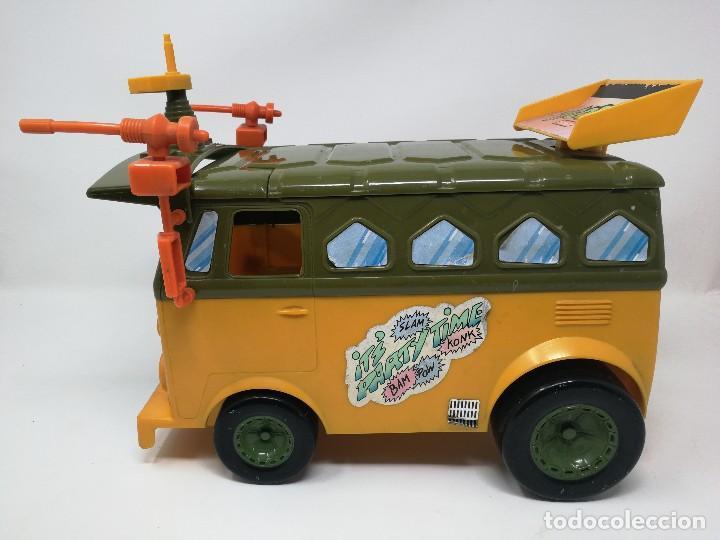 Figuras y Muñecos Tortugas Ninja: TMNT camioneta furgoneta Tortugas Ninja. Playmates Toys 1989. Completa. Dificil. - Foto 6 - 128746571
