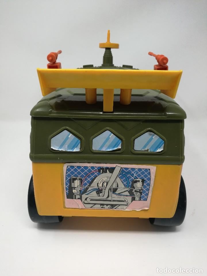 Figuras y Muñecos Tortugas Ninja: TMNT camioneta furgoneta Tortugas Ninja. Playmates Toys 1989. Completa. Dificil. - Foto 7 - 128746571